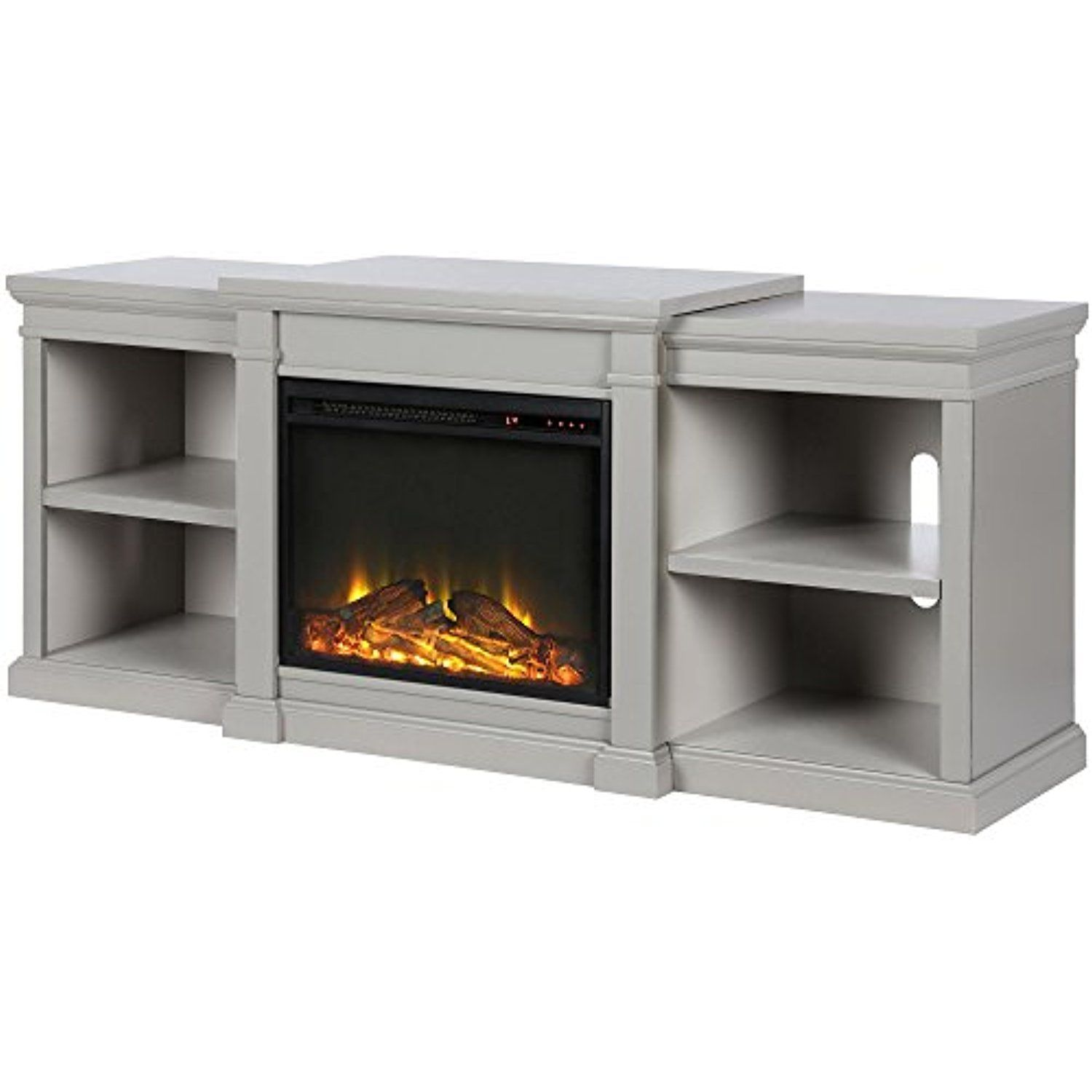 Ameriwood Home 1767296com Manchester Fireplace Tv Stand Gray