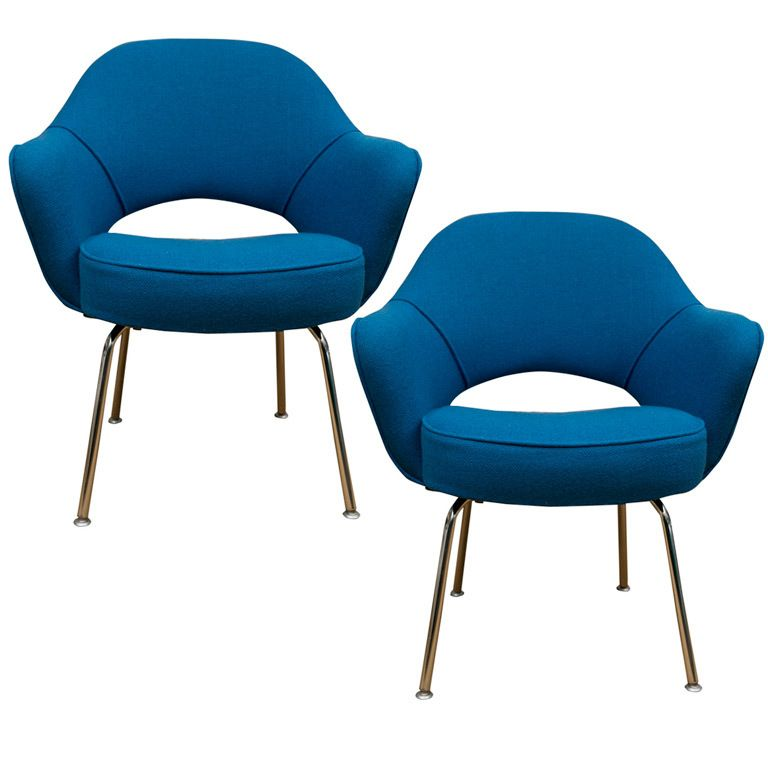 1stdibs   Pair Of Eero Saarinen Executive Chairs For Knoll Explore Items  From 1,700 Global Dealers