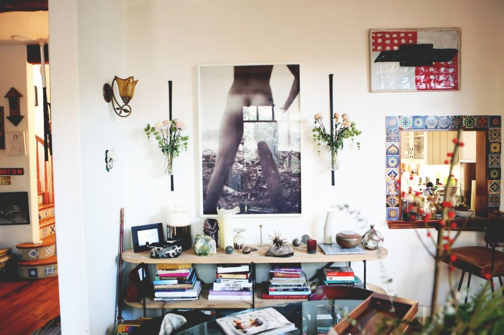 At Home With Erin Wasson Home House Interior Eclectic Home