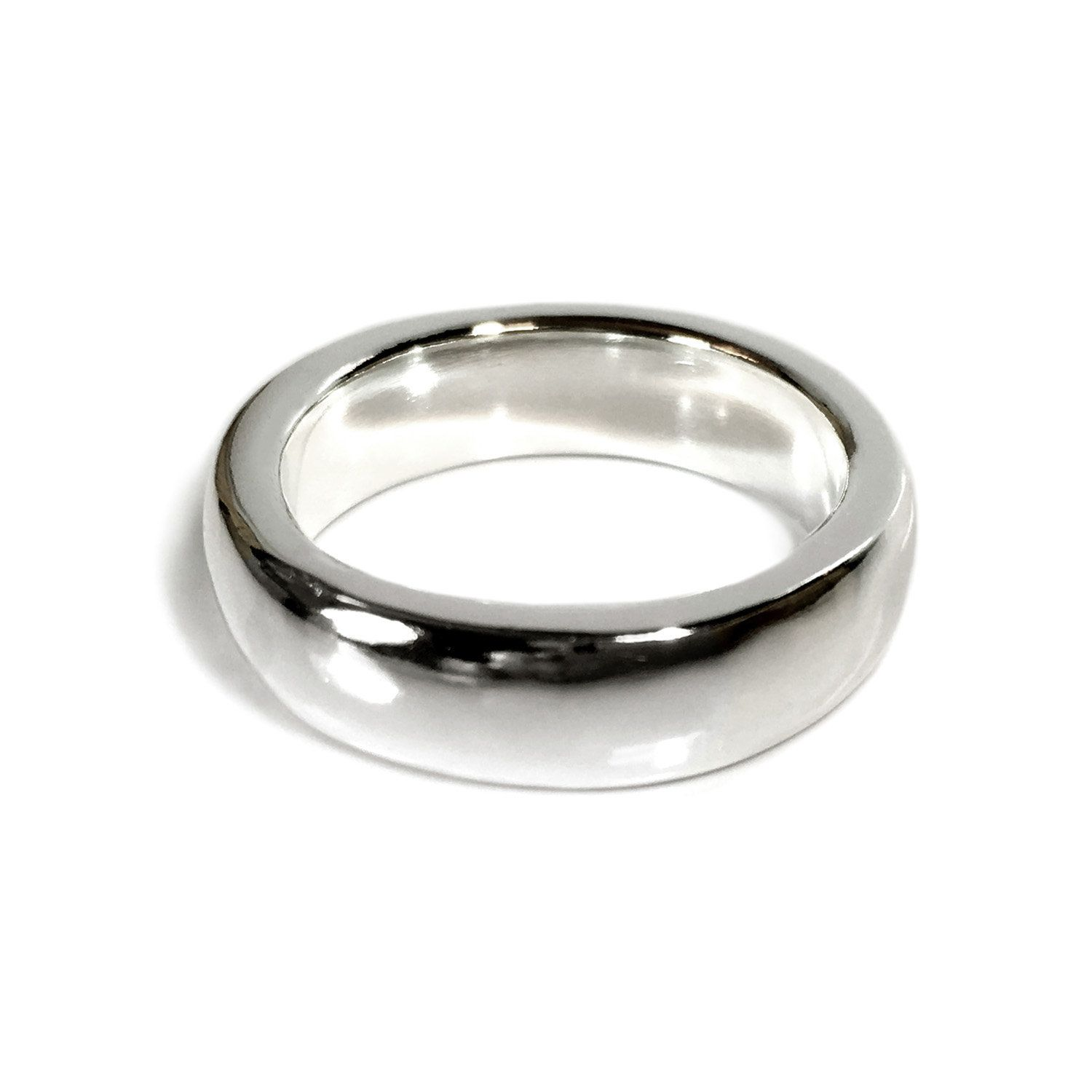 Solide Argent Sterling 925 The Turning CERTER Men/'s Ring Band Taille 7 To 9