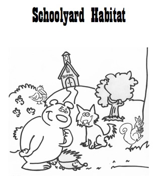 Schoolyard Habitat ecology biotic abiotic lab 6th 7th 8th