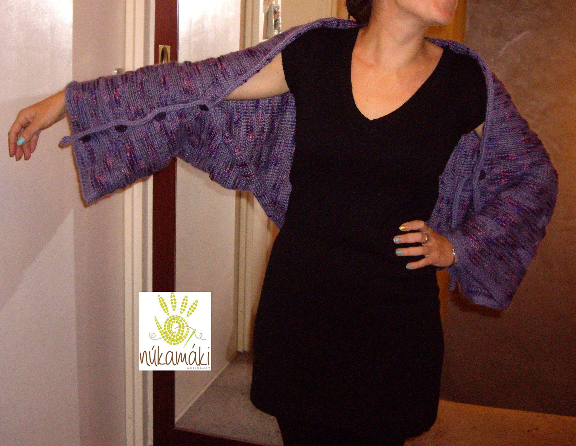 Étole, châle Magique, Transformable taille S M   Echarpe, foulard, cravate  par nukamaki 694682bf117