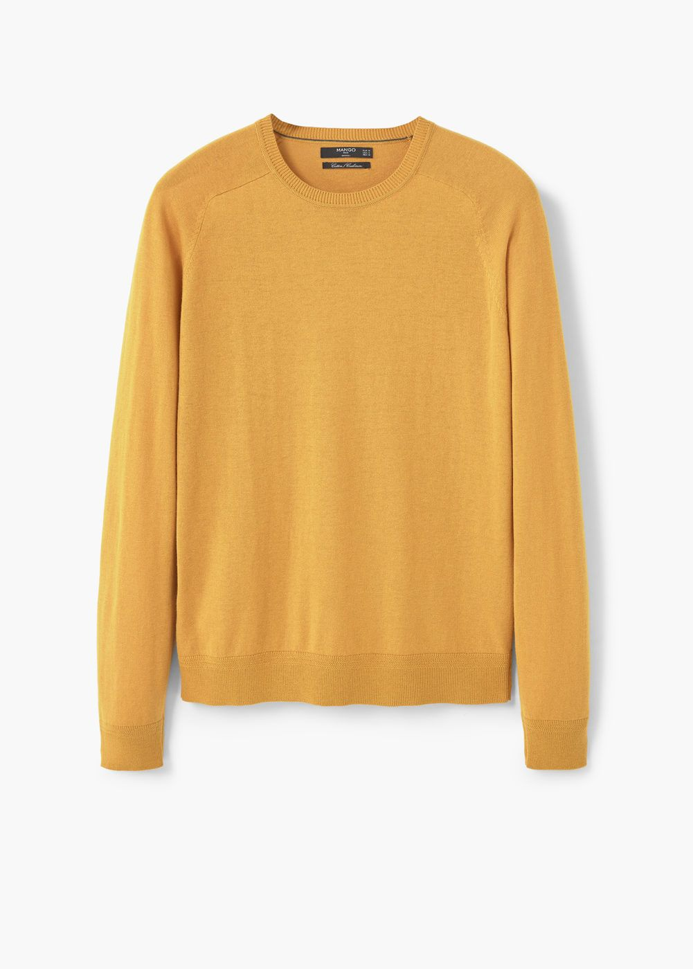 Cotton cashmere-blend sweater | Clothing, Cardigans and Mango