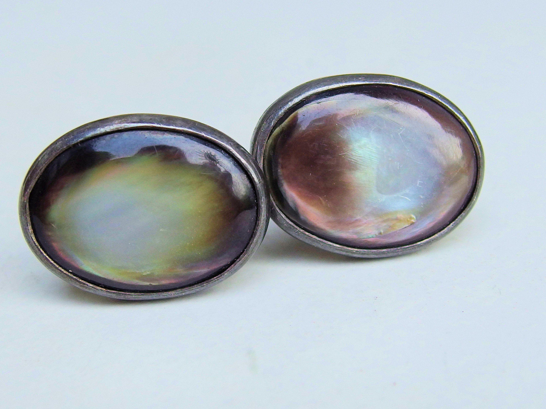925 Sterling Silver Gemstone Cufflinks Men/'s Cufflinks Smoky Quartz Cufflinks Round Cut Stone Cufflinks Fine Gemstone Brown Cufflinks