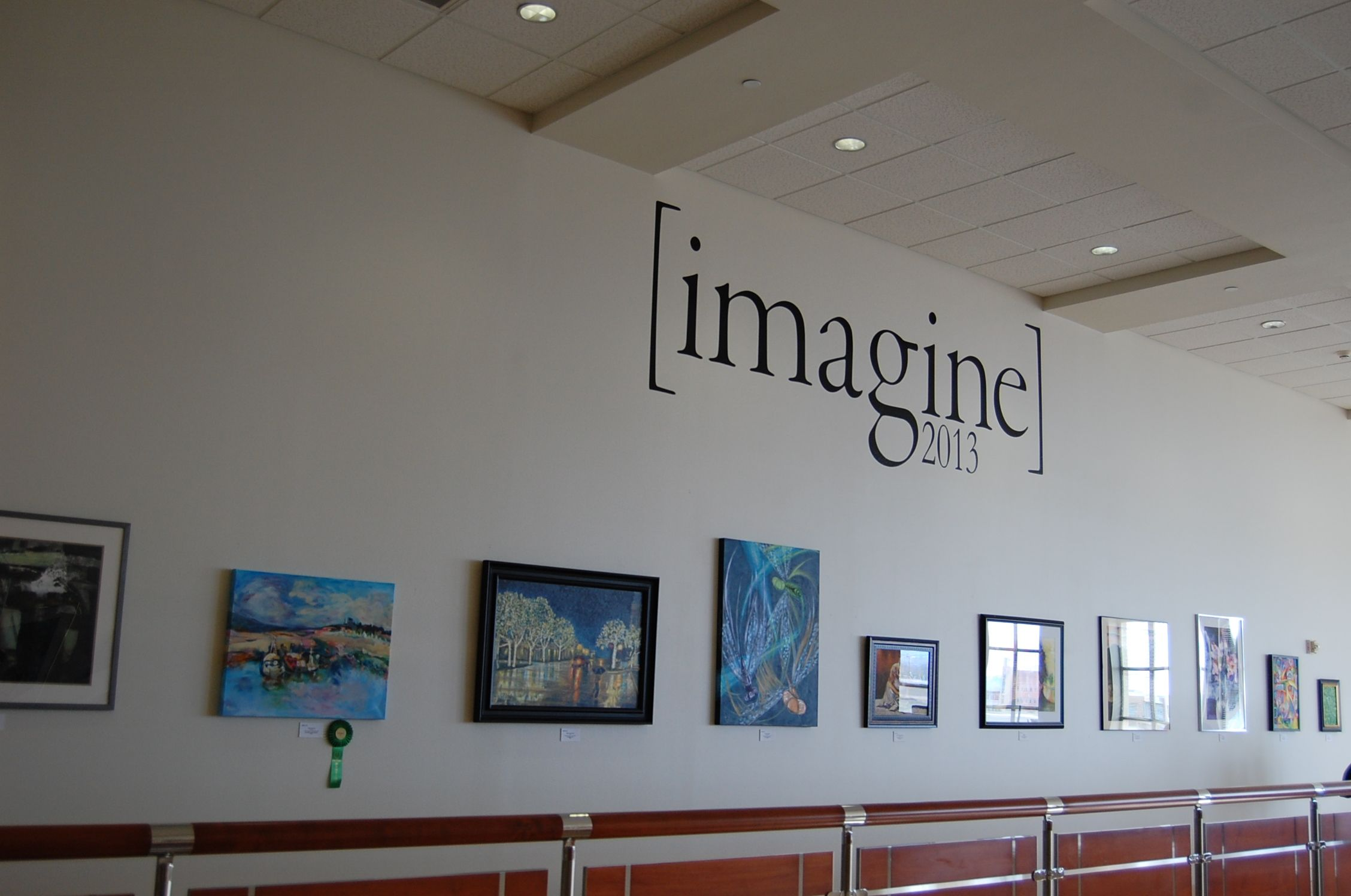 Imagine 2013 art exhibit in the avery building at the