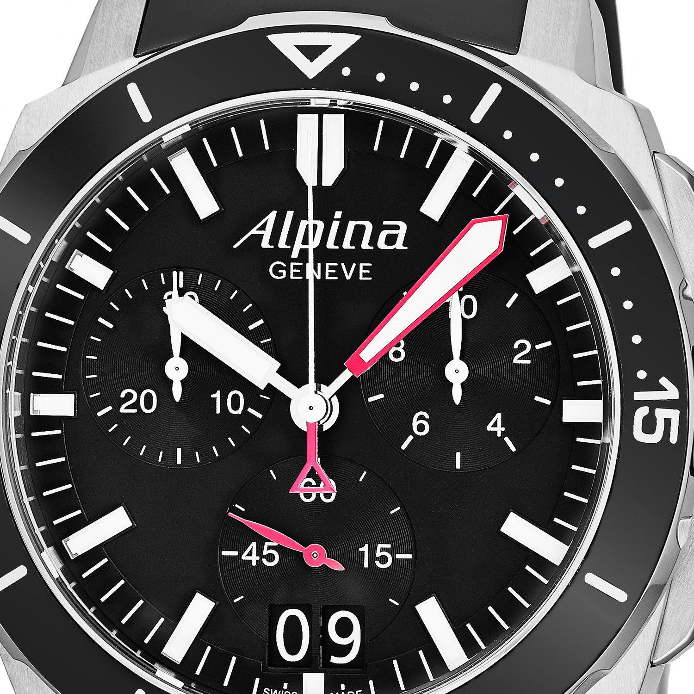 Alpina Seastrong Diver Chronograph Quartz Al 372lbg4v6 Alpina Quartz Luxury Watches