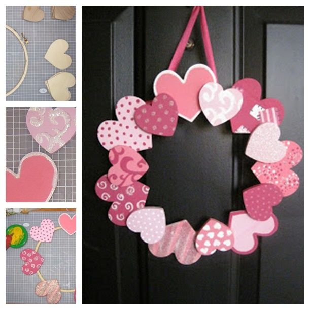 Wonderful DIY 20 + Valentine's Day Wreaths | Valentines ...