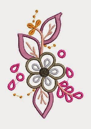 Download Free Designs Embroidery Download Free Aplique Orquidea