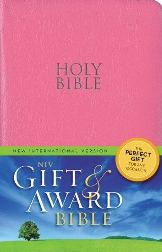DOWNLOAD PDF] NIV Gift and Award Bible LeatherLook Pink Red