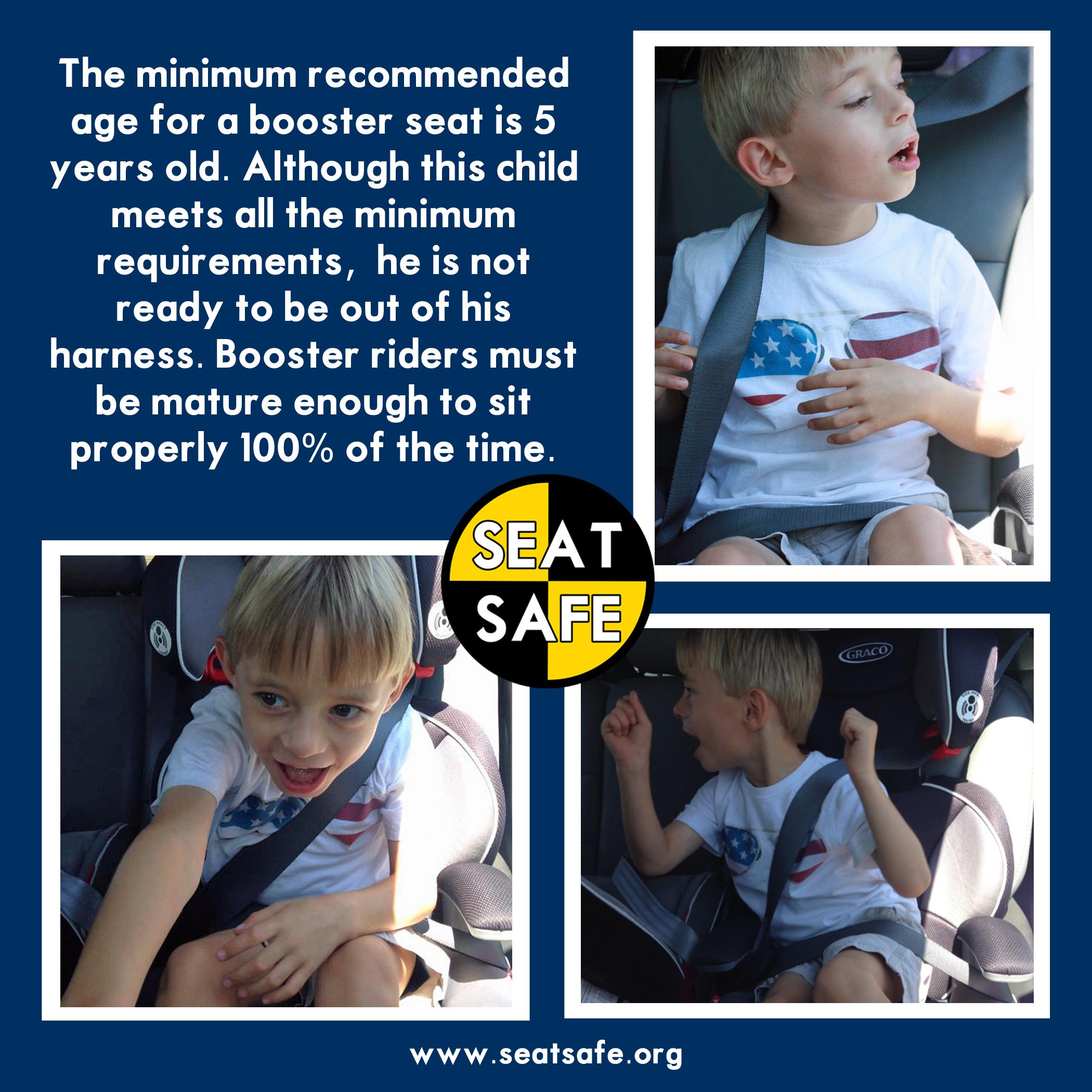 Car Seat Safety Booster Maturity Carseat Safety Safe Car Seats Car Seats