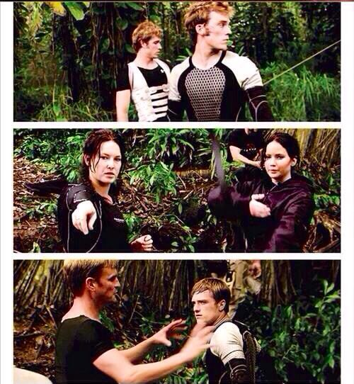 Hunger Games Catching Fire Stunt Doubles Hunger Games Hunger Games Catching Fire Hunger Games Memes