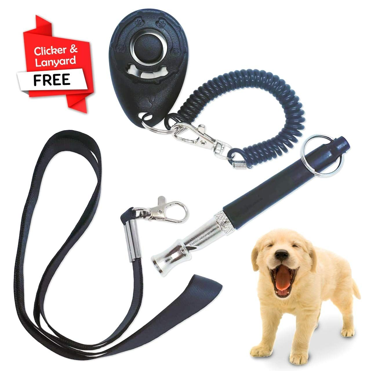 Naturalessence 11035 Dog Whistle Professional Free Dog Clicker