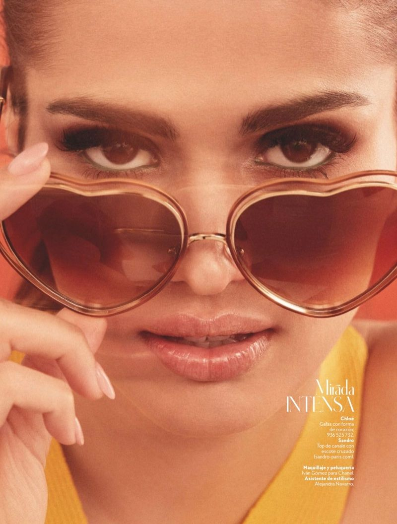 1626eca29f4 Sara Sálamo Wears the Hottest Makeup Trends for InStyle Spain ...