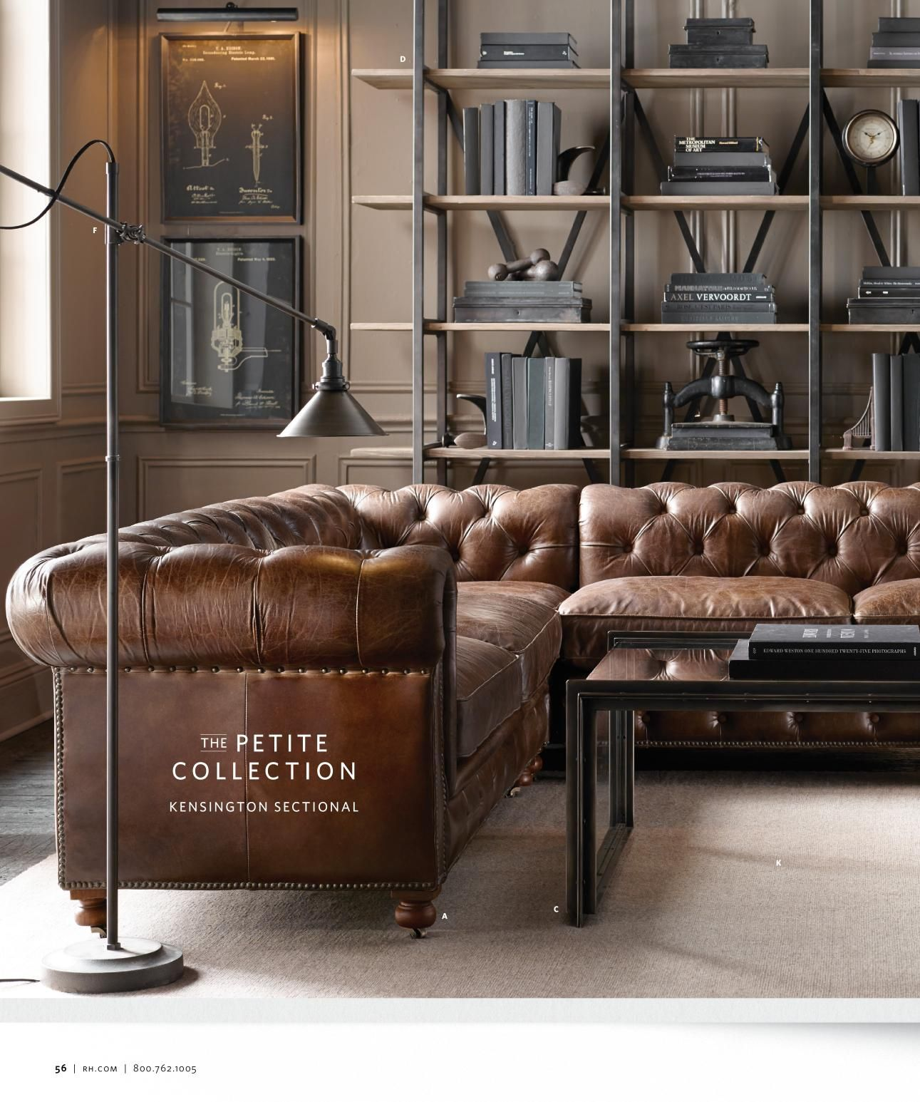 Gorgeous Shelves Rh Source Books Home Decor