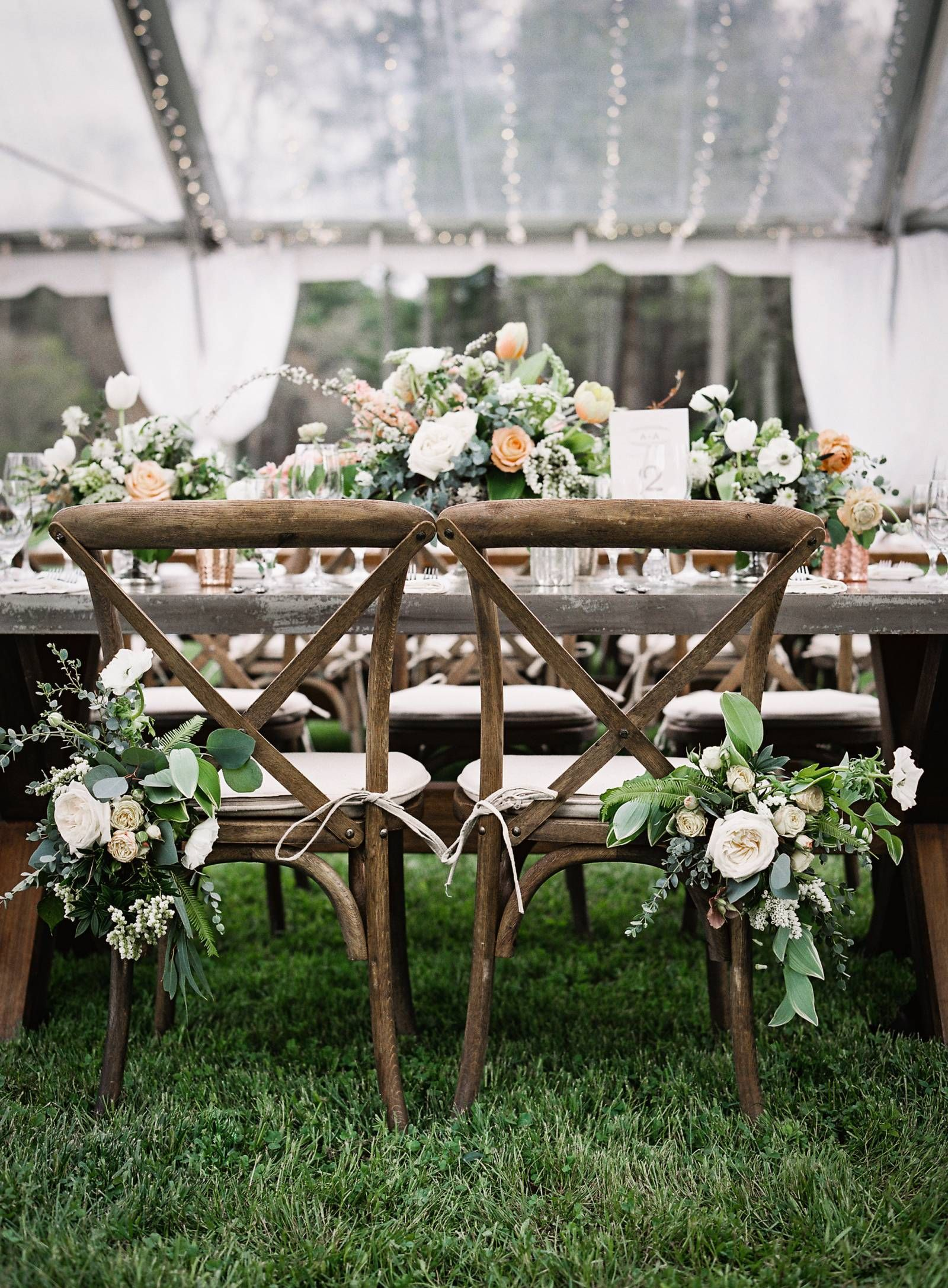North Carolina mountain wedding with a focus on nature ...