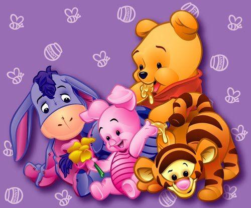 Baby winnie the pooh pictures pooh pinterest bilder for Wandbilder baby
