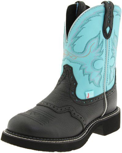 Justin Boots Women's Gypsy Boot,Black Deer Cow,9 B US Justin Boots ...