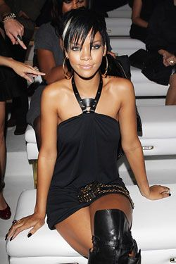 Rihanna's black dress