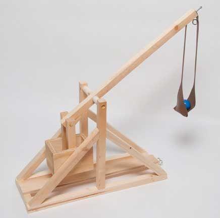 how to build a trebuchet sling