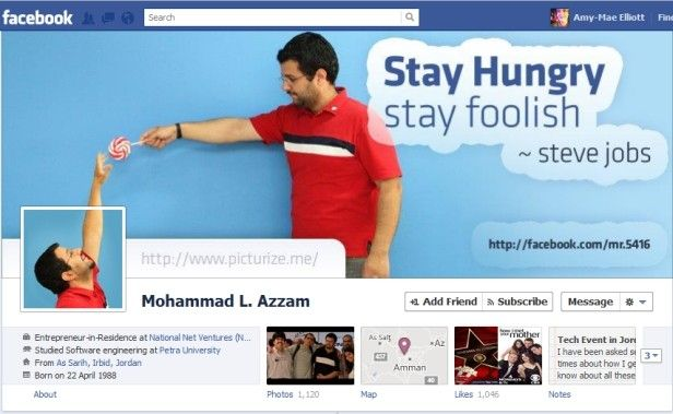 examples of facebook cover page with profile pic - Google Search - sample advertising timeline