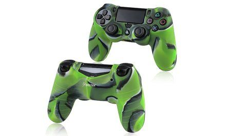 image for Insten 1x Camouflage Navy Green Skin Case for Sony