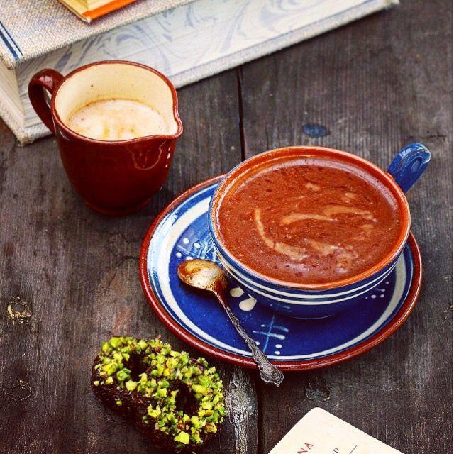 varm choklad kakao recept