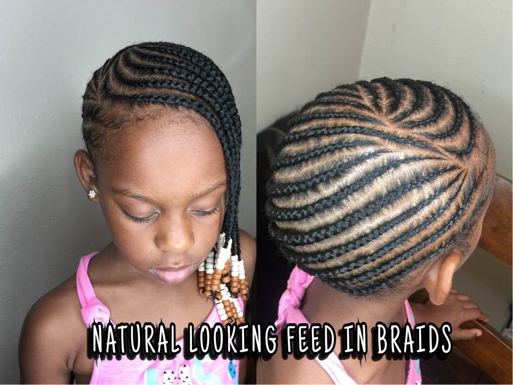 Hair Braids Styles Cost: How To Do Lemonade Feed In Braids DETAILED TUTORIAL