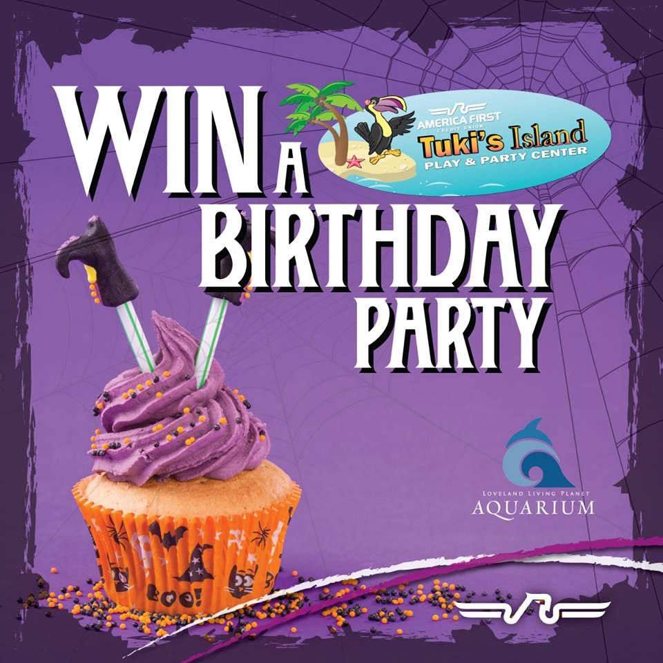 Be One of Five Winners to receive a Kid's Birthday Party at Tuki's Island!  We've teamed up with The Living Planet Aquarium to give away FIVE Kid's Birthday Parties at Tuki's Island. Enter to Win: http://woobox.com/p5j5ta Birthday Party includes:  Day Admission for up to 20 guests, 90 mins in private party room, 2 Large pizzas, and MORE!!