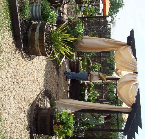 Gazebo Flooring Ideas Patio design ideas mixed materials budget patio pea gravel and flooring ideas workwithnaturefo