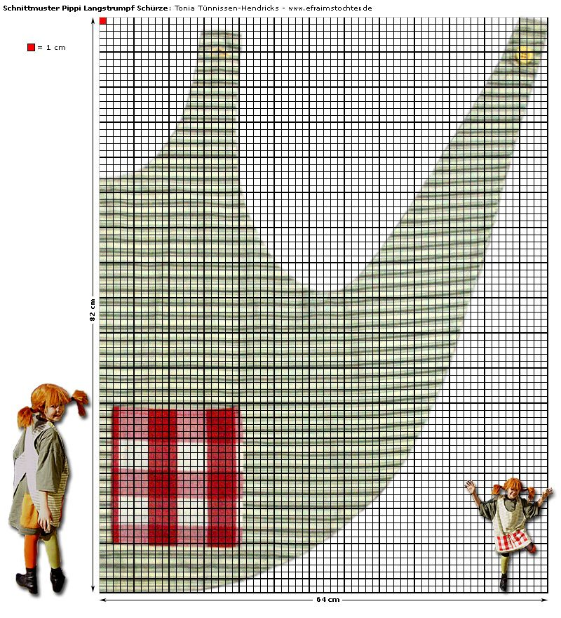 pippi longstocking apron pattern german site n hen f rs kind pinterest sch rze pippi. Black Bedroom Furniture Sets. Home Design Ideas
