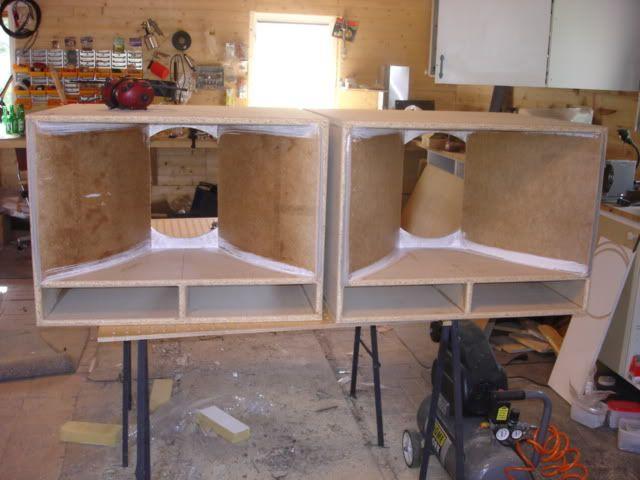 altec 816a horn bass reflex cabinets diy in 2019 horn. Black Bedroom Furniture Sets. Home Design Ideas