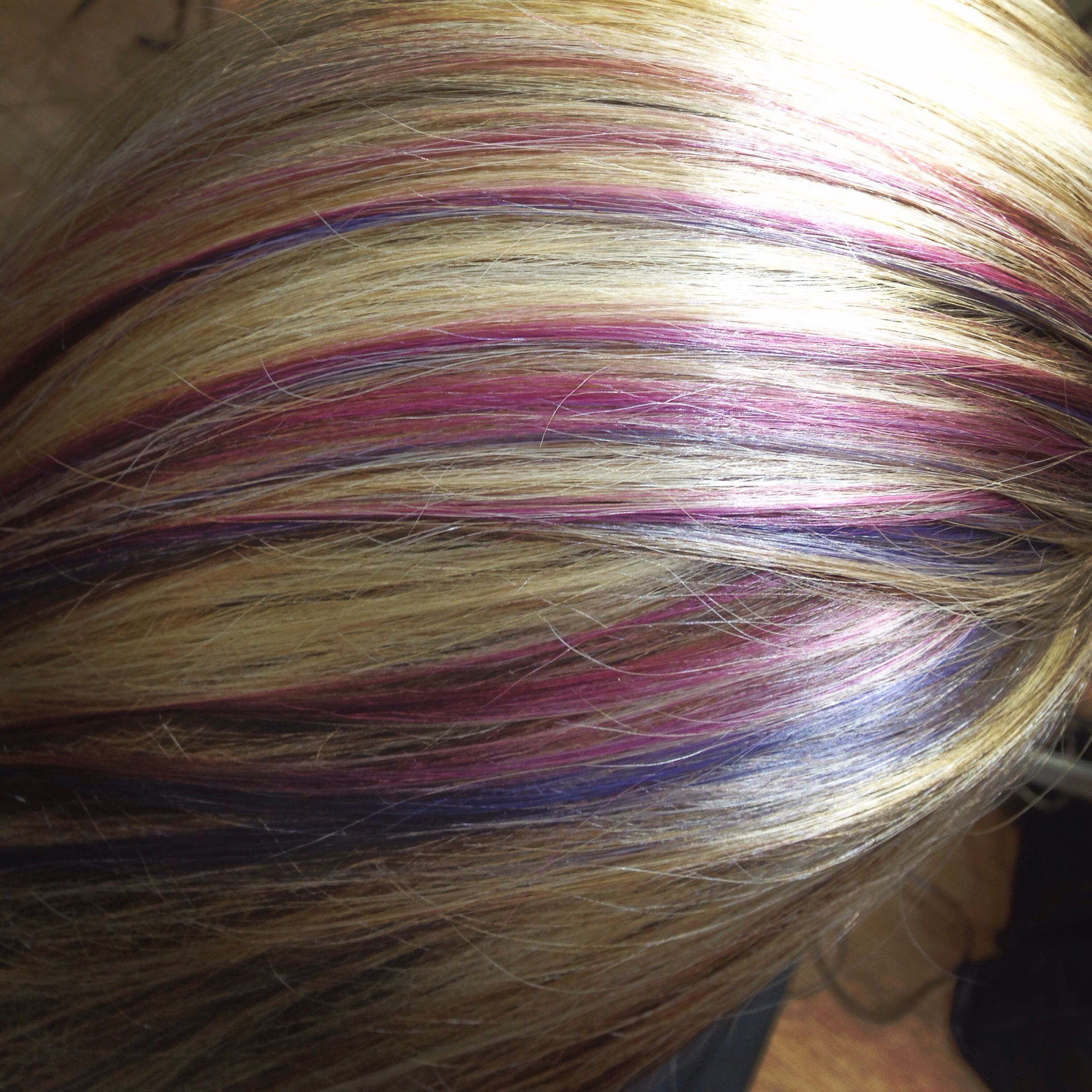 Pink platinum blonde purple aveda hair colour  Hair uc