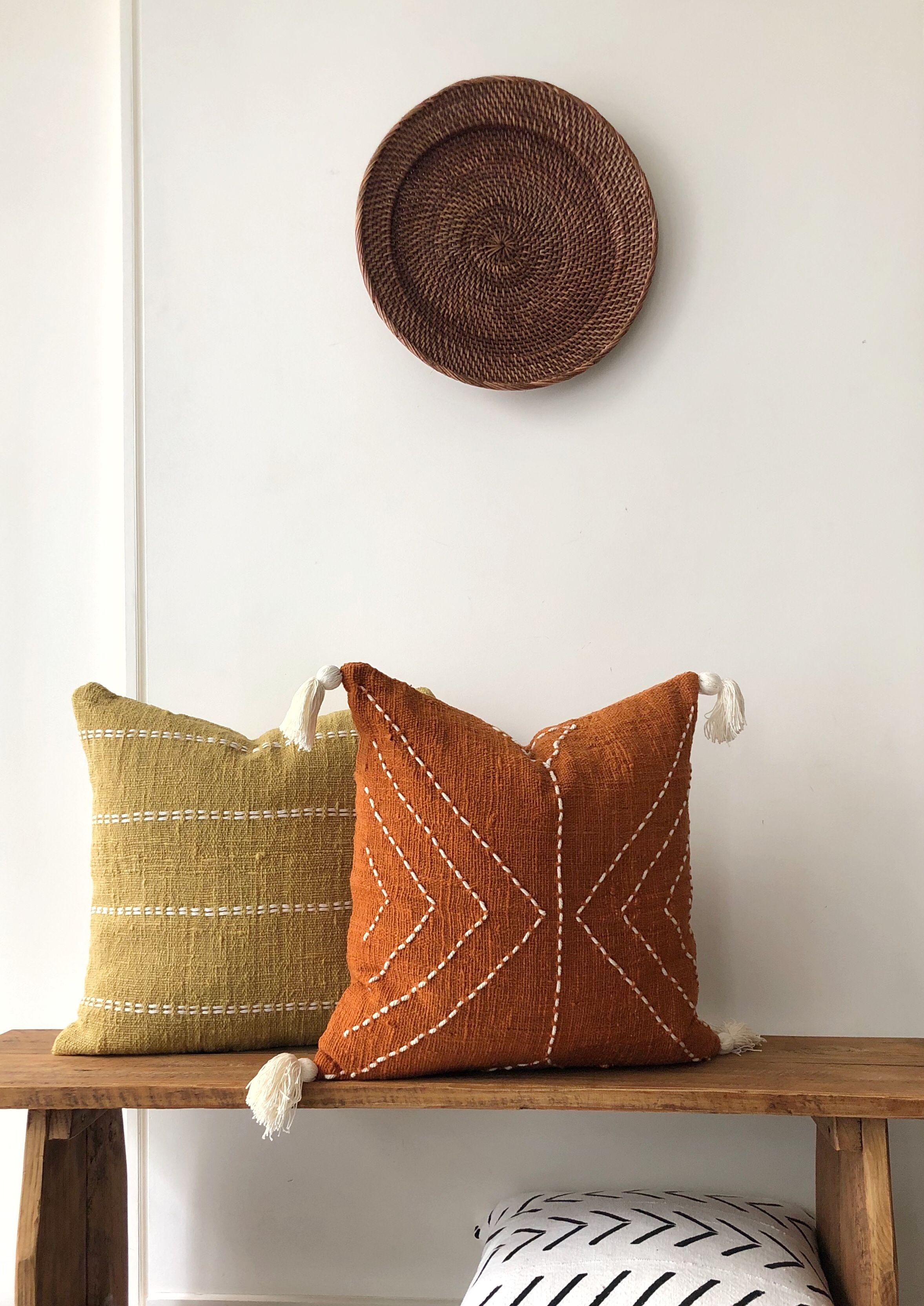 Rust And Mustard Pillow Combinations Boho Pillows Burnt Orange