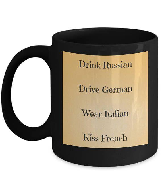 Im Not Everyones Cup of Tea But I Drink Coffee Rude Novelty Glossy Mug Coaster