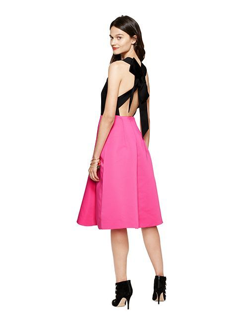 you\'ll look as pretty as a present in this bare-backed, bow-adorned ...
