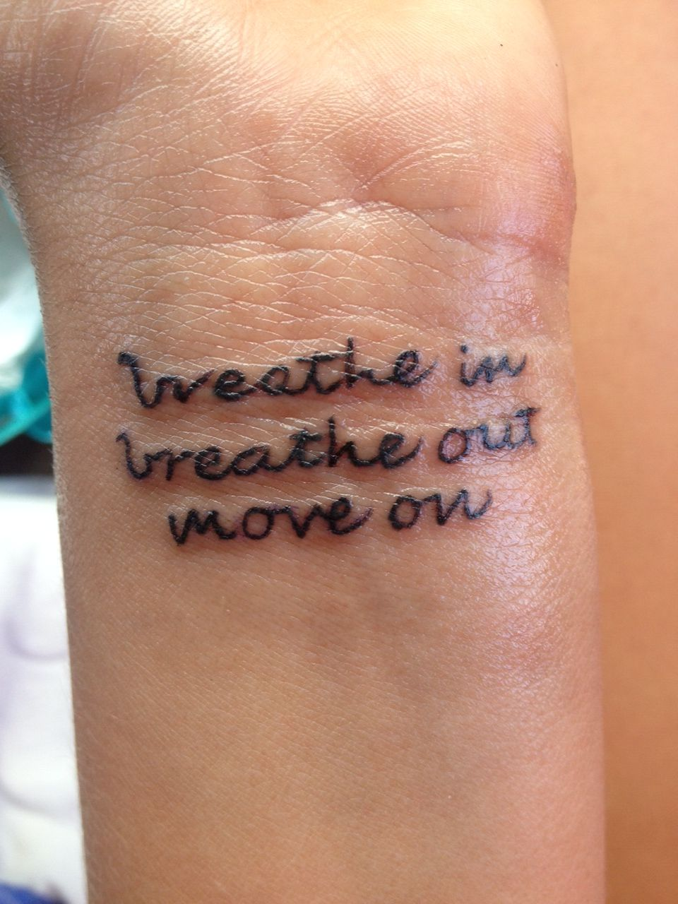 Tattoo In Memory Of My Uncle, He Loved This Quote By Jimmy