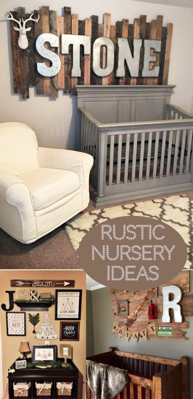 Rustic Nursery Themes PICTURES & Nursery Decor Ideas April 2018