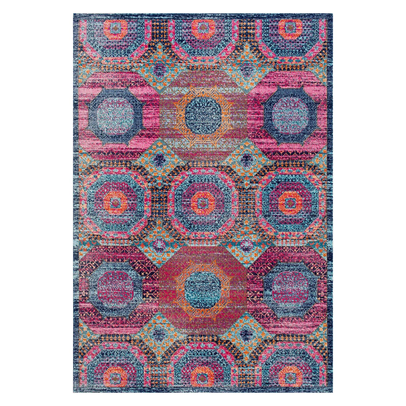Nuloom Faded Medallion Marva Area Rug Products In 2019