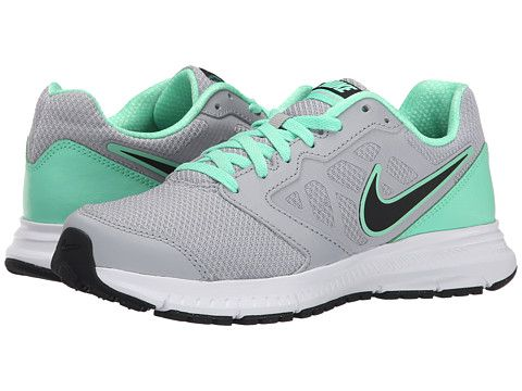 241802c0a73afe Nike Downshifter 6 Wolf Grey Green Glow White Black - Zappos.com Free  Shipping BOTH Ways