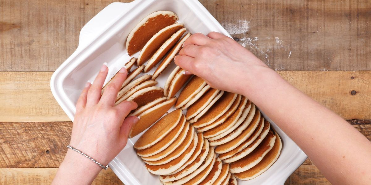 Who doesn't love pancakes? They're one of those childhood favorites that just seems to stay popular. #pancakecasserole