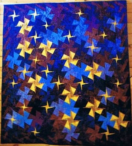 Twisted Starry Night Quilt Pattern by Simply Twisted Designs at ... : starry night quilt pattern - Adamdwight.com