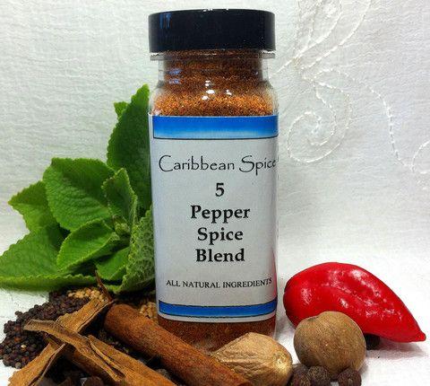 Five Pepper Spice Rub