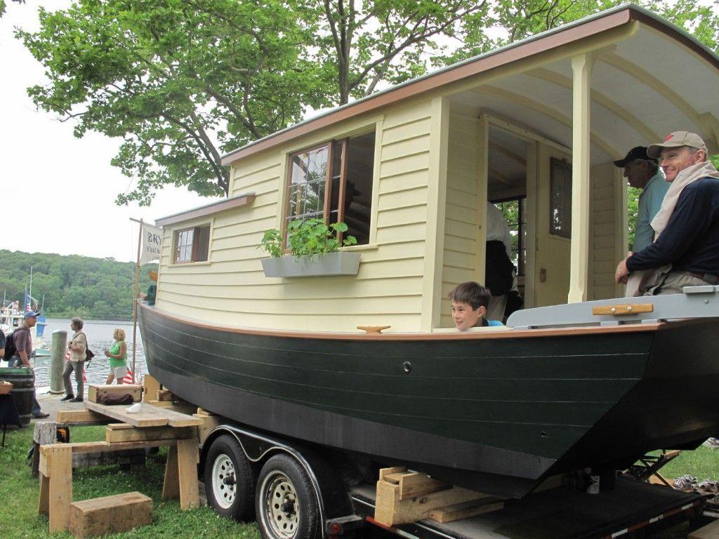 Tiny Houseboat Living Harry Bryan Shantyboat Houseboat