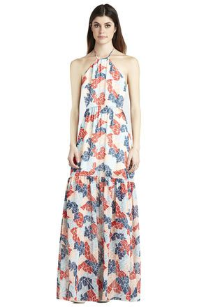 Blouson Maxi Dress