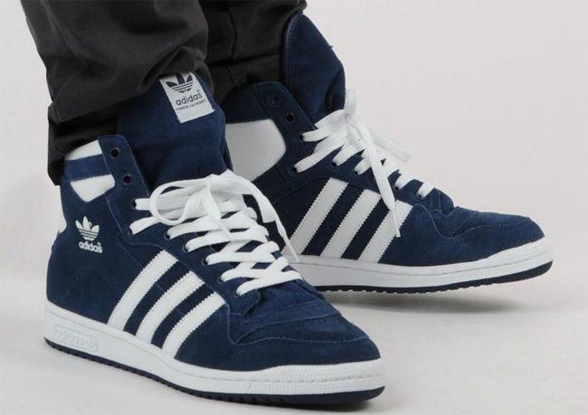 Permanecer pasado Funeral  adidas Originals Decade High Suede | Navy / White - EU Kicks: Sneaker  Magazine | Sneakers, Adidas originals, Sneaker magazine