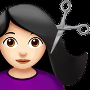 Haircut 1 Woman Emoji Colors For Skin Tone Emoji Pictures