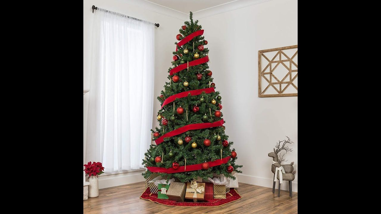 Best Choice Products 7 5ft Premium Spruce Hinged Artificial Christmas Tree In 2020 Artificial Christmas Tree Christmas Tree Christmas