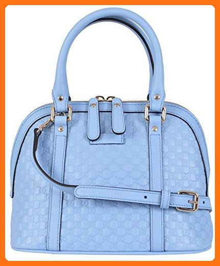 5070fe498f49 Gucci Women's Micro GG Leather Convertible Mini Dome Purse (Baby Blue) -  Crossbody bags (*Amazon Partner-Link)