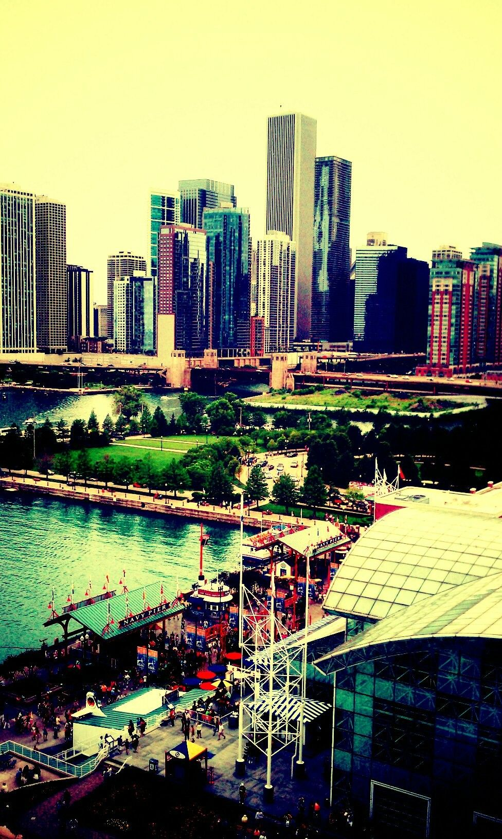Navy Pier Chicago We Boarded A Boat Here For A River Tour