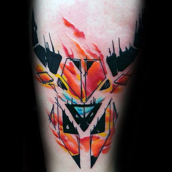 75 Taurus Tattoos For Men - Zodiac Ink Design Ideas ...